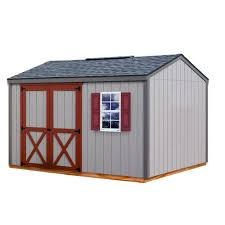 8x8 Storage Shed Kits by Handy Home Products Montana 8 Ft X 10 Ft Wood Storage Shed 18361