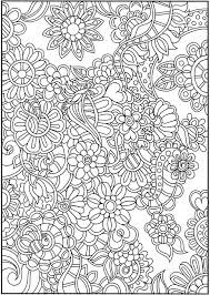 Creative Haven Dream Doodles Coloring Sheets Dover Publications
