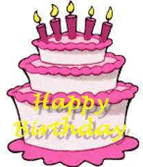Awesome Birthday Cakes Animated Free Birthday Clipart Animations