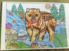 Mama Grizzly Adult ColoringColoring Book