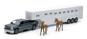 Amazon.com: 1:43 Scale Chevrolet Silverado With Horse Trailer ... Truck Trailer And Hitch Trailers Hitches Service Parts 7 X 14 Coinental Cargo It Sales 85 20 Enclosed Car Hauler Tulsa What To Know Before You Tow A Fifthwheel Autoguidecom News Curt Class 1 For Volkswagen Bus Or Truck11655 The How To Like A Pro Choose The Best Travel Rvingplanet Blog Prevent Theft Horserider