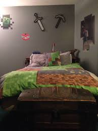 Minecraft Bedding Walmart by Minecraft Bedroom Sword And Pick Ax From Target Bedding From Red