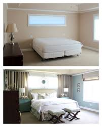 Master Bedroom Curtain Ideas by Master Bedroom Reveal Curtains Around Bed Mirrors Above Long