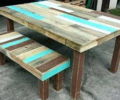 Pallet Tables Table Color La Pallets Walls And Pallet Projects