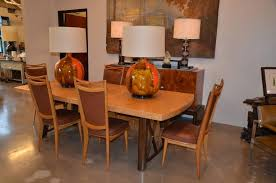 Mid Century Cork Dining Table Designed By Paul Frankl Austrian American