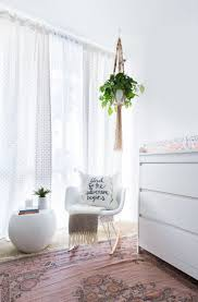 100 Eames Style Rocking Chair This Blogger Mom Has The Perfect Nursery For Her New Baby Girl A