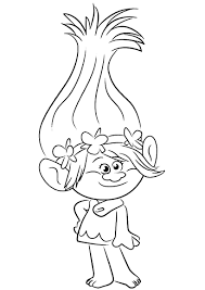 Trolls Coloring Pages To Download And Print For Free Coloring Shirts