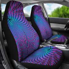 100 Seat Covers For Truck Vortex PatternPurpleCar Auto SUV