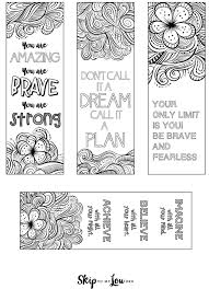 Free Download Coloring Bookmarks
