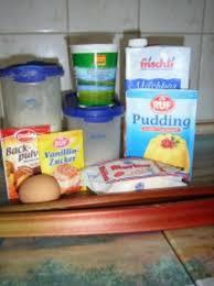 kuchen rhabarber schmand torte