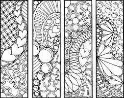 Bookmark Coloring Page