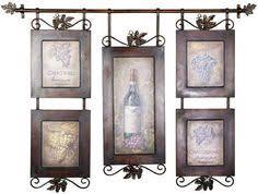 Wine Themed Kitchen Set by Vino Tuscany Wine Theme Kitchen Tiers 60x24 Home Kitchen Decor
