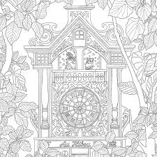 The Time Garden Coloring Book Daria Song