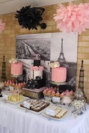 Kitchen Tea Themes Ideas by Best 25 Paris Themed Parties Ideas On Pinterest Parisian Themed