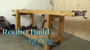 build a roubo workbench on a budget part 1 milling the bench top