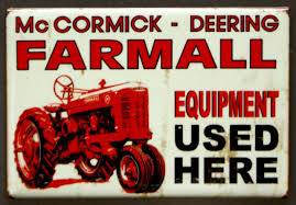 100 Truck Magnet McCormick Deering Farmall Tractor Fridge Country Home Farming