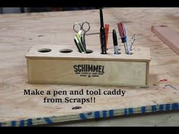 Building A Simple Wood Desk by Build A Simple Desk Pen And Tool Holder From Scraps Diy Desk