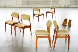 Erik Buch Dining Chairs at 1stdibs