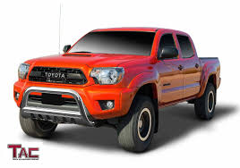 Amazon.com: TAC Bull Bar For 2005-2015 Toyota Tacoma Pickup Truck ... Toyota Tacoma Trd Off Road What You Need To Know New 2018 Sport 4 Door Pickup In Kelowna Bc 8ta3498 Bed Rack Active Cargo System For Short 2016 Trucks Offroad Sherwood Park Sr5 Double Cab Escondido 17410 Certified Preowned 2017 Crew 4x4 Truck 1017252 Review An Apocalypseproof Bedslide Storage 1000 Amazoncom Tac Bull Bar 052015