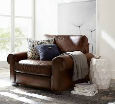 Pottery Barn Turner Sectional Sofa by 24 Best Pb Leather Armchair Images On Pinterest Leather