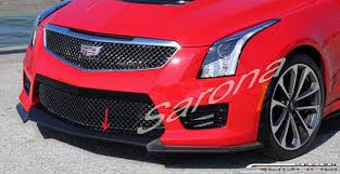 Cadillac ATS Coupe Front Add on Lip 2015 2016 $690 00 Part