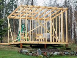 6x8 Saltbox Shed Plans by Building A Shed Roof Woodworking Pinterest Outdoor Buildings