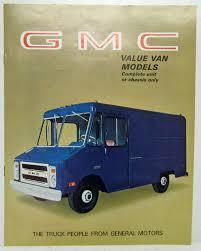 1969 GMC Trucks Value Van Models Sales Brochure