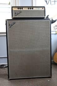 Fender Bassman Cabinet 1x15 by Fender Silverface Bassman Fender Bassman Silverface 1968 W 2x15