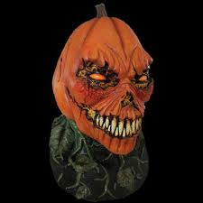 Possessed Pumpkin Man Evil Jack O Lantern Fanged Monster Halloween