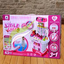 Barbie Doll Kitchen Playset