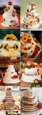 Awesome Rustic Fall Wedding Cakes
