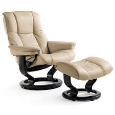 Stressless Mayfair 1732015 Large Reclining Chair & Ottoman ...