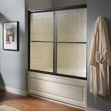 Bathtub Doors Oil Rubbed Bronze by Custom Prestige Framed Sliding Shower Doors American Standard