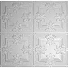 white tin style plastic drop ceiling tiles ceiling tiles