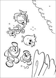 Click To See Printable Version Of Nemos Friends Coloring Page