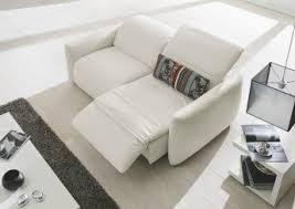 canapé relax 2 places électrique canapés de relaxation cuir tissu canapé relax manuel ou