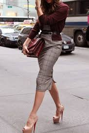 20 Stylish Outfit Ideas With A Pencil Skirt