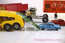 100 Structo Toy Truck Twin Tractor Four Trailer With Auto Hauler Set For Sale
