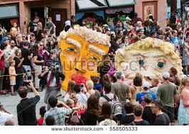 Five Points Halloween In Five by Atlanta Ga October 15 Hundreds Spectators Stock Photo 558505360