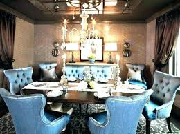 Blue Dining Room Set Navy Chairs Best Ideas