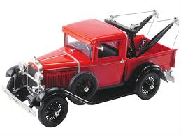 100 Tow Truck From Cars 118 Scale 1931 Ford Model A Diecast Model 18116RED Free
