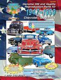 100 Chevy Truck Parts Catalog Free Car Vintage GMC Car Classic