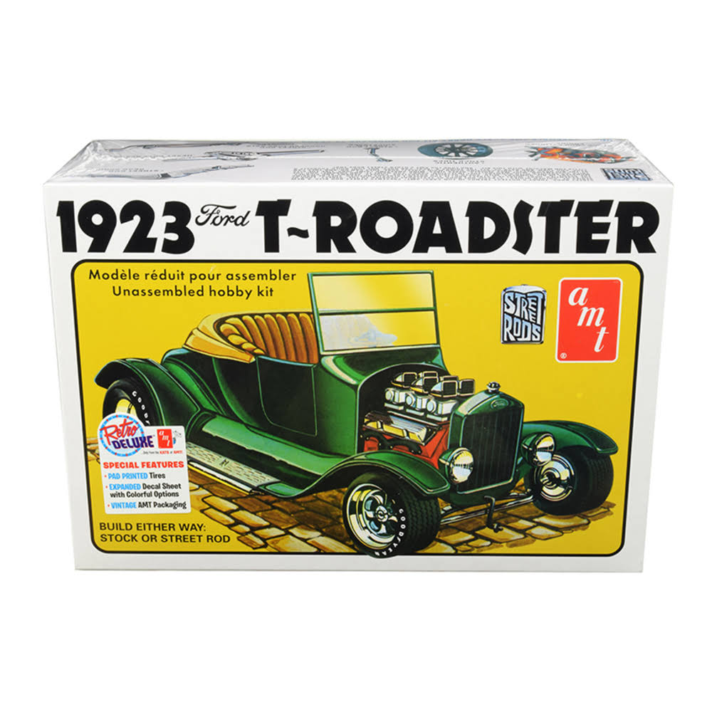 AMT 1923 Ford T-Roadster Car Model Kit - Scale 1:25