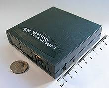 160 GB SDLT Tape Cartridge An Example Of Off Line Storage When Used Within A Robotic Library It Is Classified As Tertiary Instead