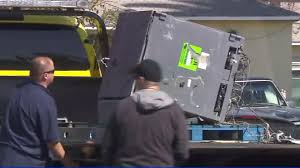 Burglar Uses Dump Truck To Take ATM From Artesia Bank, Leads Pursuit ...