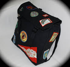 Unique Army Backpack With Travel And Scout Patches