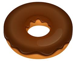 Chocolate Donut Clipart Clip art of Chocolate Clipart 6275