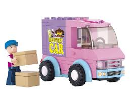 Delivery Car Van Mobile Building Bricks Set (102 Pieces) Girls Pink ... Lego City Anleitung Unique Delivery Truck Itructions 3221 Lego Technic Bmw R 1200 Gs Adventure 42063 Myer Online For 32211 Bricksargzcom Town Tagged Brickset Set Guide And Database Delivery Truck A Man His Colleague Flickr Excavator And 60075 Buy In South Africa Ideas Ice Antique Matthew Hocker Lego Itructions Pinterest Heavy Cargo Transport 60183 Walmartcom