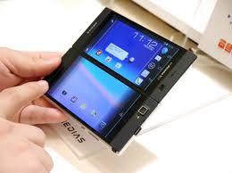 Video NEC Medias W N 05E A dual screen smartphone Foxcrawl