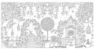Secret Garden 96 Pages English Edition Coloring Book For Children Adult Relieve Stress Kill Time Graffiti